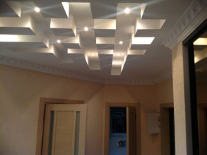 Ремонт квартир: пример потолка от Мастер+