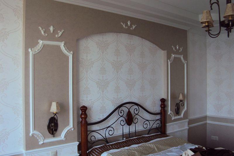 Ремонт квартир: спальня от Мастер+