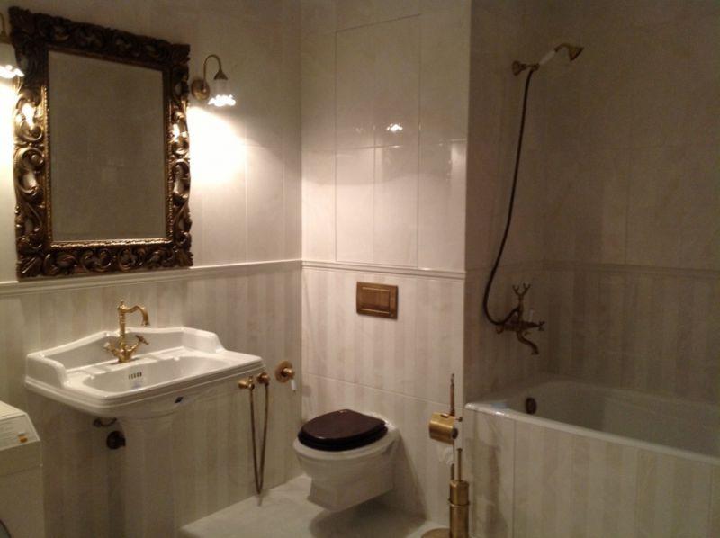 Ремонт квартир: ванная комната от Мастер+